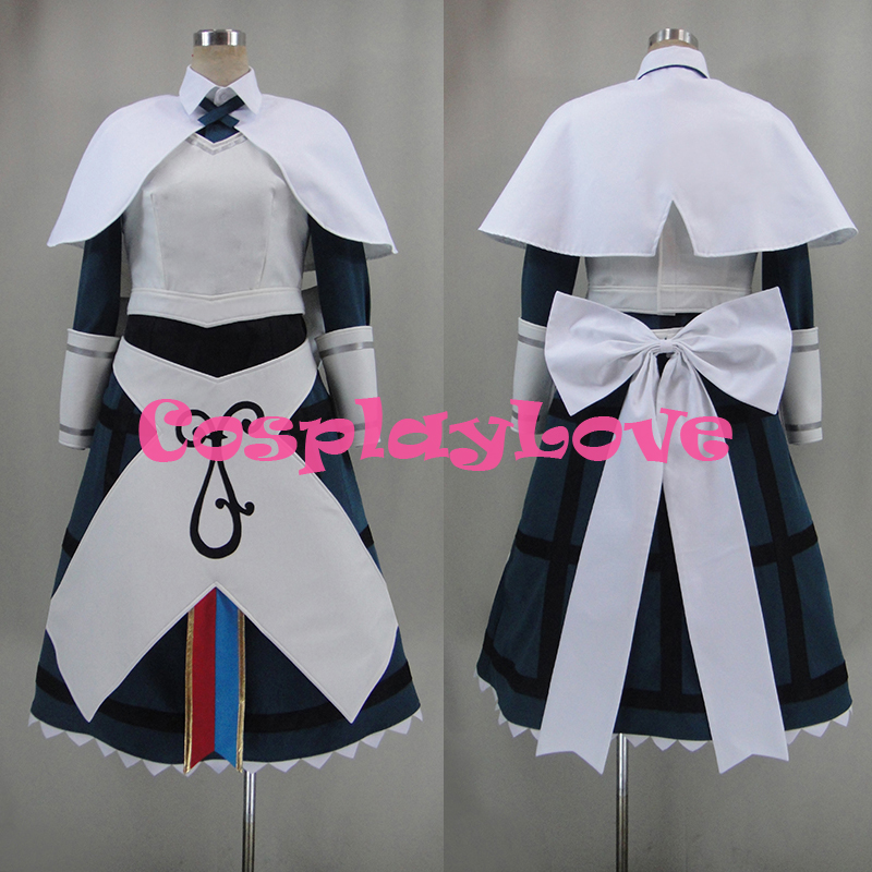 New Custom Made Japanese Anime Chaos Dragon Meryl Sherbet Cosplay Costume With Hat High Quality CosplayLove Christmas Party