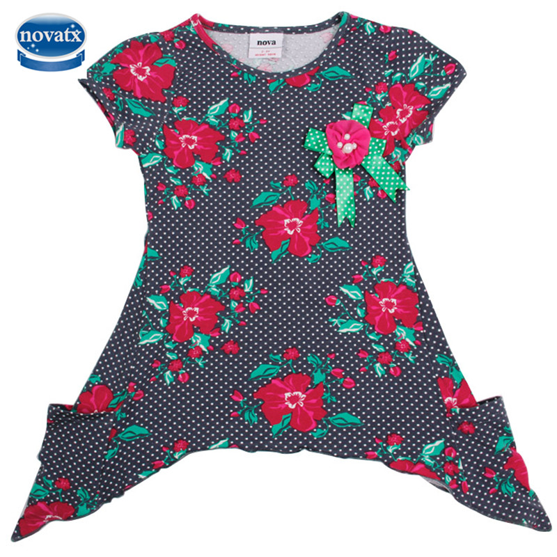 2015 DRESS NOVA kids child clothes lovely autumn cartoon girls dress baby fashion nova kids wear child dresses baby frocks