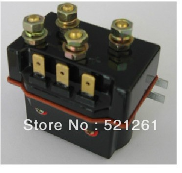 ZJWTP100DE SW80 contactor dc contactor for electrical winch k400-1 good quality 12V 24V 36V 48V 60V 72V sayoon dc 12v contactor czwt150a contactor with switching phase small volume large load capacity long service life