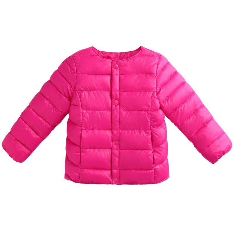 2017 Winter Baby Girls Boys Down Jacket Solid Hooded Zipper Warm Children Clothes Cap And Pockets 90% Duck Down winter children down suit long zipper solid white duck down boys girls down jackets thickening jacket pants two piece clothes