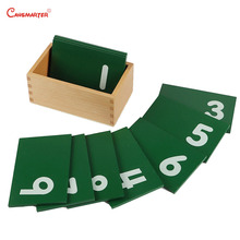 0-9 Numbers Math Toys Montessori Materials With Box Teaching Aids  Professional Beechwood Toy Games for Children MA010-NX3