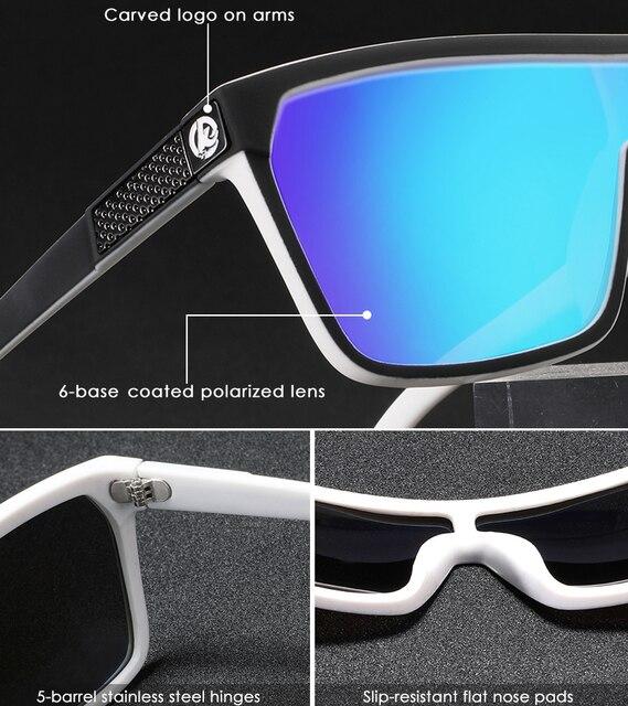 One-piece Shape Men & Women Sunglasses Polarized Elastic Paint Surface Sun Glasses Suitable Long-lasting Goggles Cat.3 3