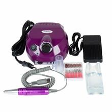 4 cores pro subay elétrica unha arte broca arquivo manicure kit 220v ue/110v eua plug ferramentas para unhas manicure broca 30000rpm
