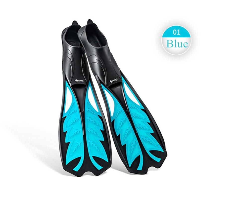 VAGUE Palmes De Natation Plongée Snorkeling Adulte Activités Flexible Palmés Ailettes Plongée Eau Pied Chaussures Maillots De Bain Équipement