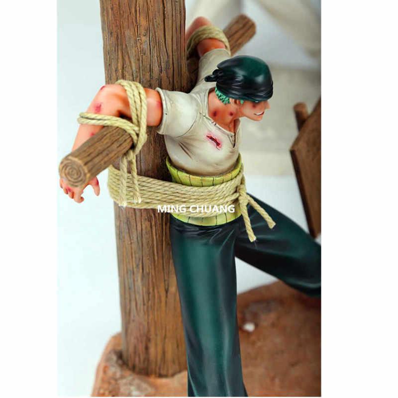Одна деталь статуя соломенная шляпа Пираты GK Supernova пират Охотник Roronoa Зоро бюст анимационная фигурка GK Коллекционная модель игрушки W125