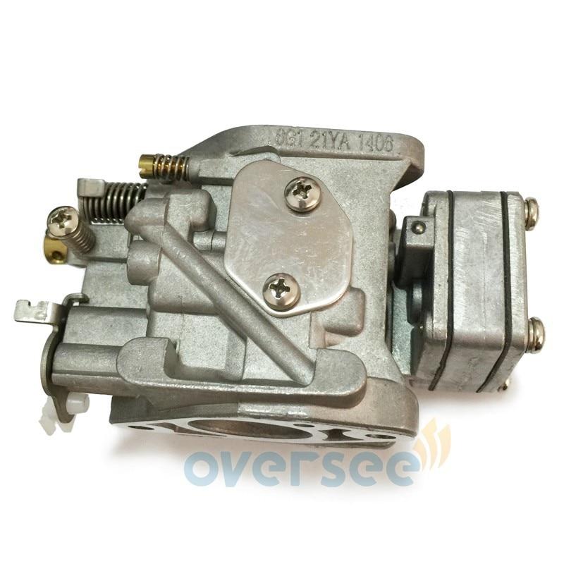6G1-14301-01or 6N0-14301-10 карбюратор для Yamaha 8HP 2 тактный Подвесной лодочный мотор, лодочный мотор, запчасти 6G1-14301