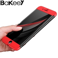 Bakeey Ultra Thin 3 In 1 Full Body Protection Hard PC Cover Case For IPhone 7