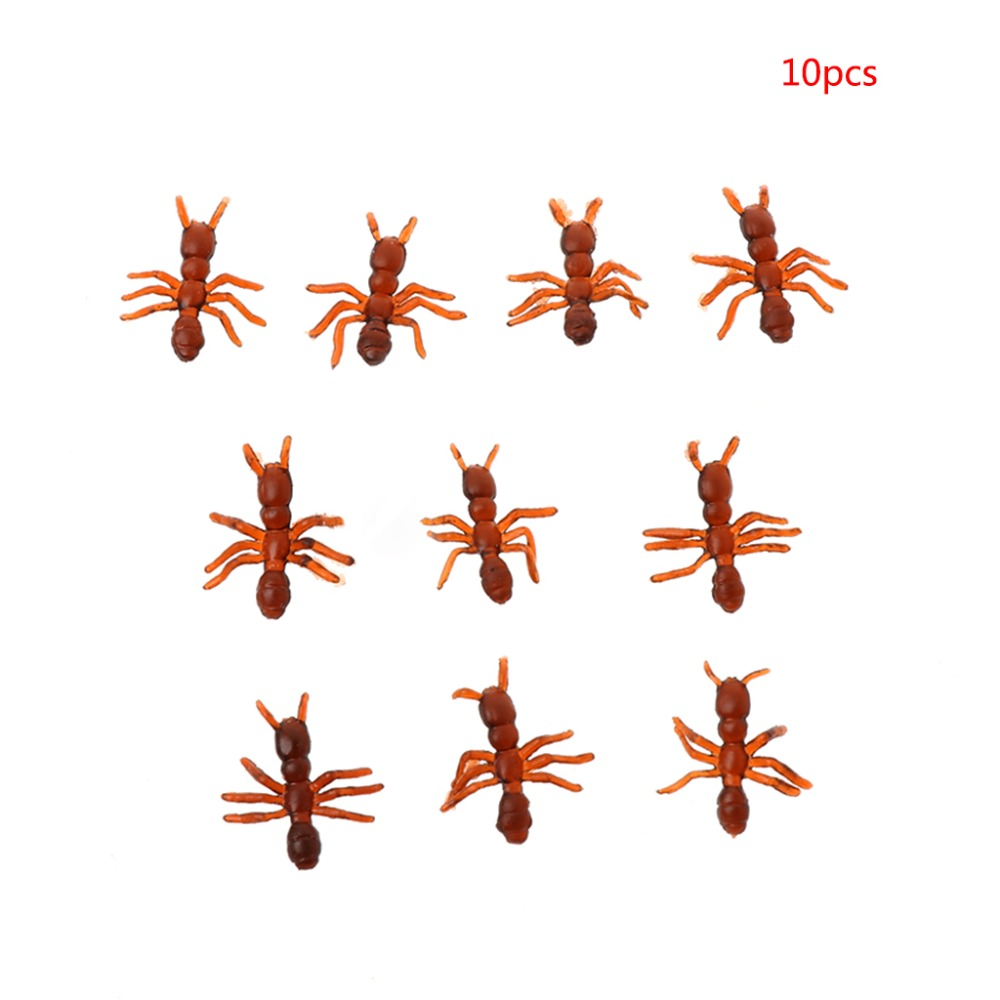 Halloween Supplies April Fool's Day Trick Simulation Realistic Ants Model Toy
