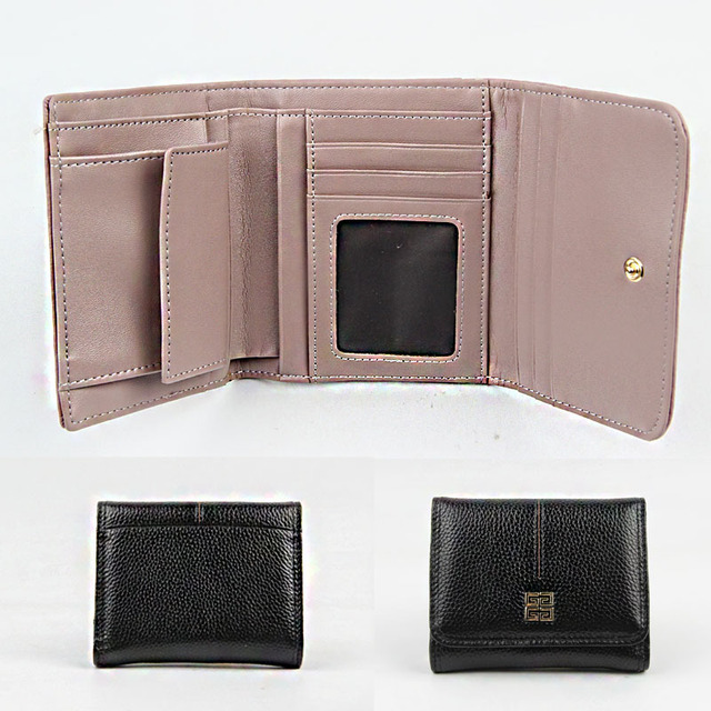 Cute Convenient Compact Genuine Leather Women's Wallet