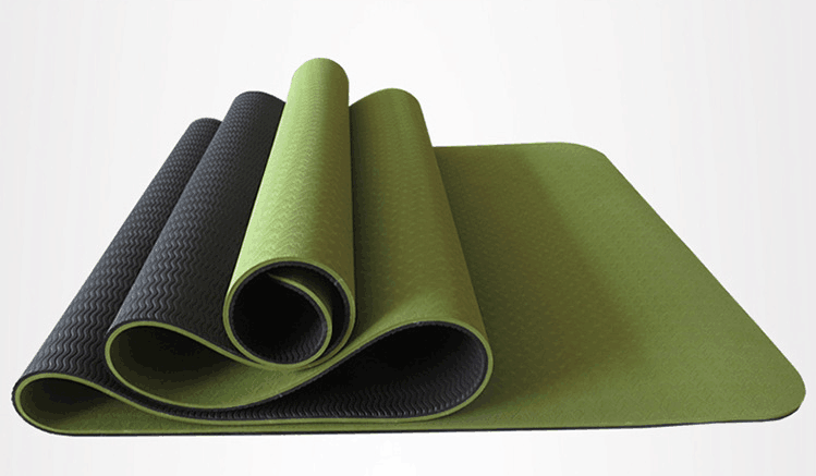 6mm thickening yoga beginners non slip TPE Yoga mats fitness environmental tasteless  fitness yoga gym exercise mats 183*61*0.6 dmasun slip resistant yoga blanket good quality gymnastics yoga mat towel non slip fitness bikram towels