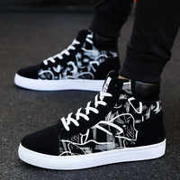Men Shoes Fashion Men Vulcanized Shoes Sneakers Men Casual Shoes High Quality Footwear Lace Up Canvas Shoes Male Tenis Masculino