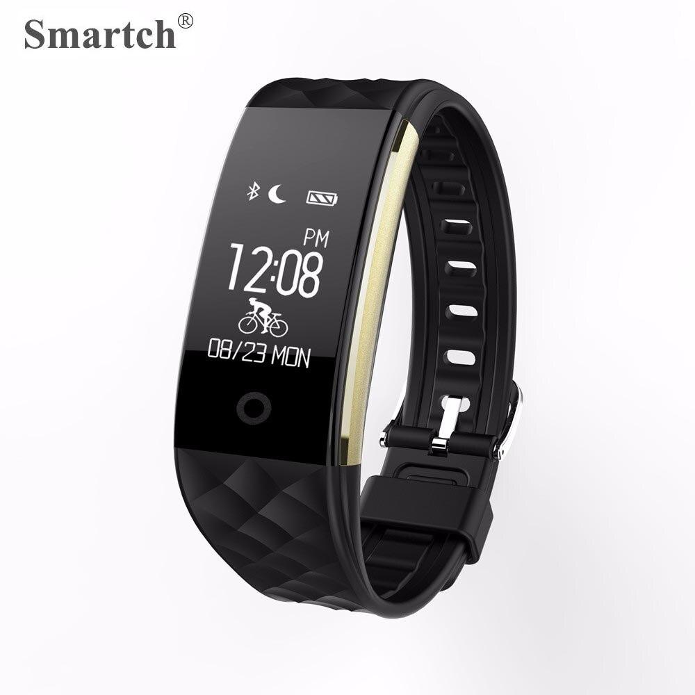 Smartch S2 Smart Wristband,Heart Rate Pulse Monitor,Pedometer,Sleep Monitor,Fitness Tracker Bracelet,Smart Band PK Mi Band 2