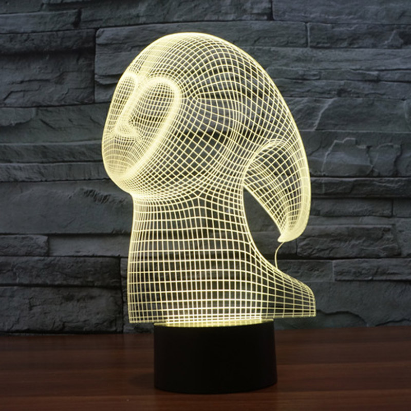 cheap mood lighting. ghost 3d usb led night light 7 colors changing christmas mood lamp touch button kids living cheap lighting s