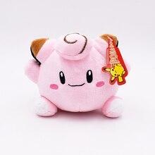 Free Shipping 15cm Kawaii Cute Soft Plush Toys Clefairy Peluche Dolls Baby Children Girls Carton Gifts