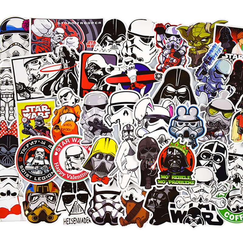 50pcs-set-star-wars-graffiti-stickers-for-computer-ps4-pad-phone-laptop-tv-fridge-bicycle-waterproof-decal-sticker