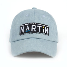 Unisex Washed Denim Talk Show Variety Baseball Cap Martin Show Cap Cowboy  Washed High Quality Adjustable Dad Hat Hip Hop Snapbac 36ae522c761