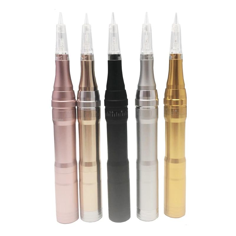 Professional Wireless Permanent Makeup Eyebrow Tattoo Machine Pen With Cartridge