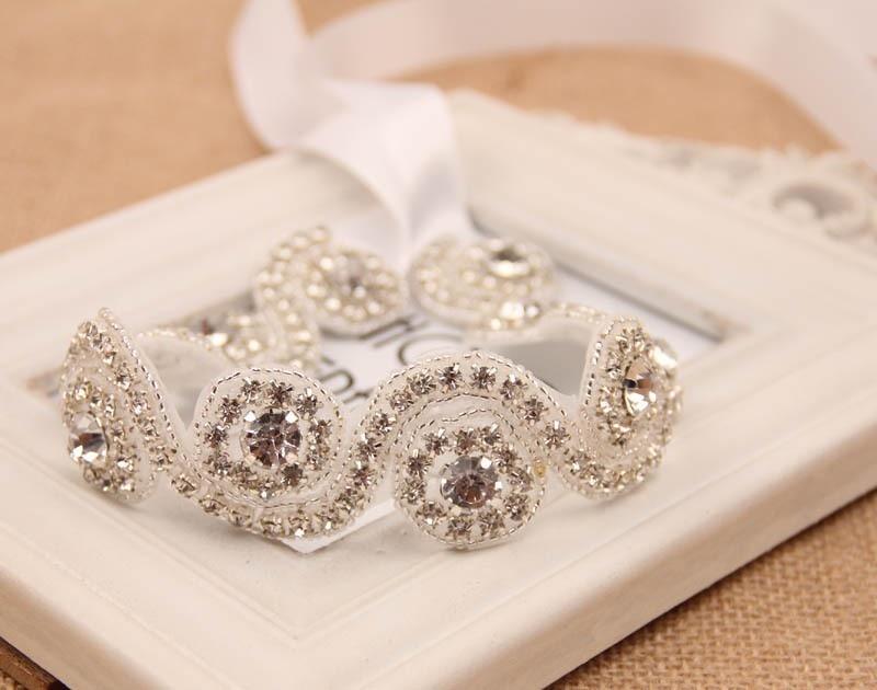 5 штук в партии со стразами высокого качества Свадебный повязка, Свадебный ободок, день рождения оголовье