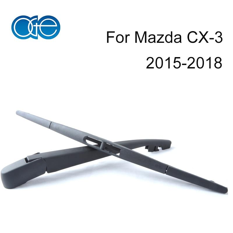 OGE Rear Wiper Arm And Blade For Mazda CX-3 2015 2016 2017 2018 High Quantity Windscreen Natural Rubber Auto Car Accessories