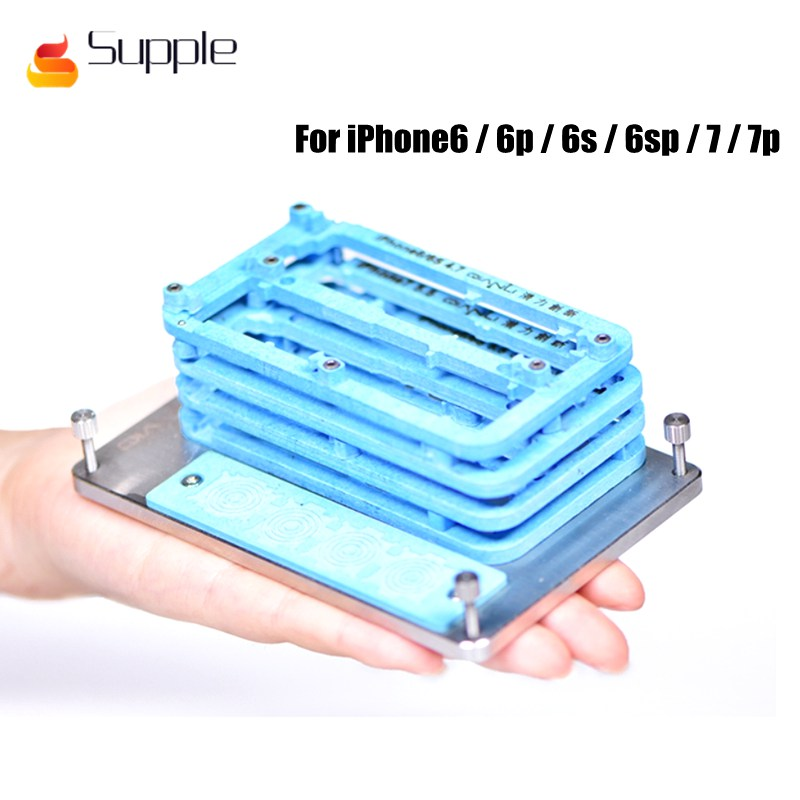 Supple Newest for iPhone6/6p/6s/6sp/7/7p Maintenance fixtures Apple phone motherboard repair universal fixture цена и фото
