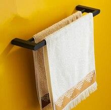 Wholesale Retail Promotion Bathroom Accessories,Stainless Steel Vintage Black Finish Double Towel Bar&Towel Rack/porte serviette