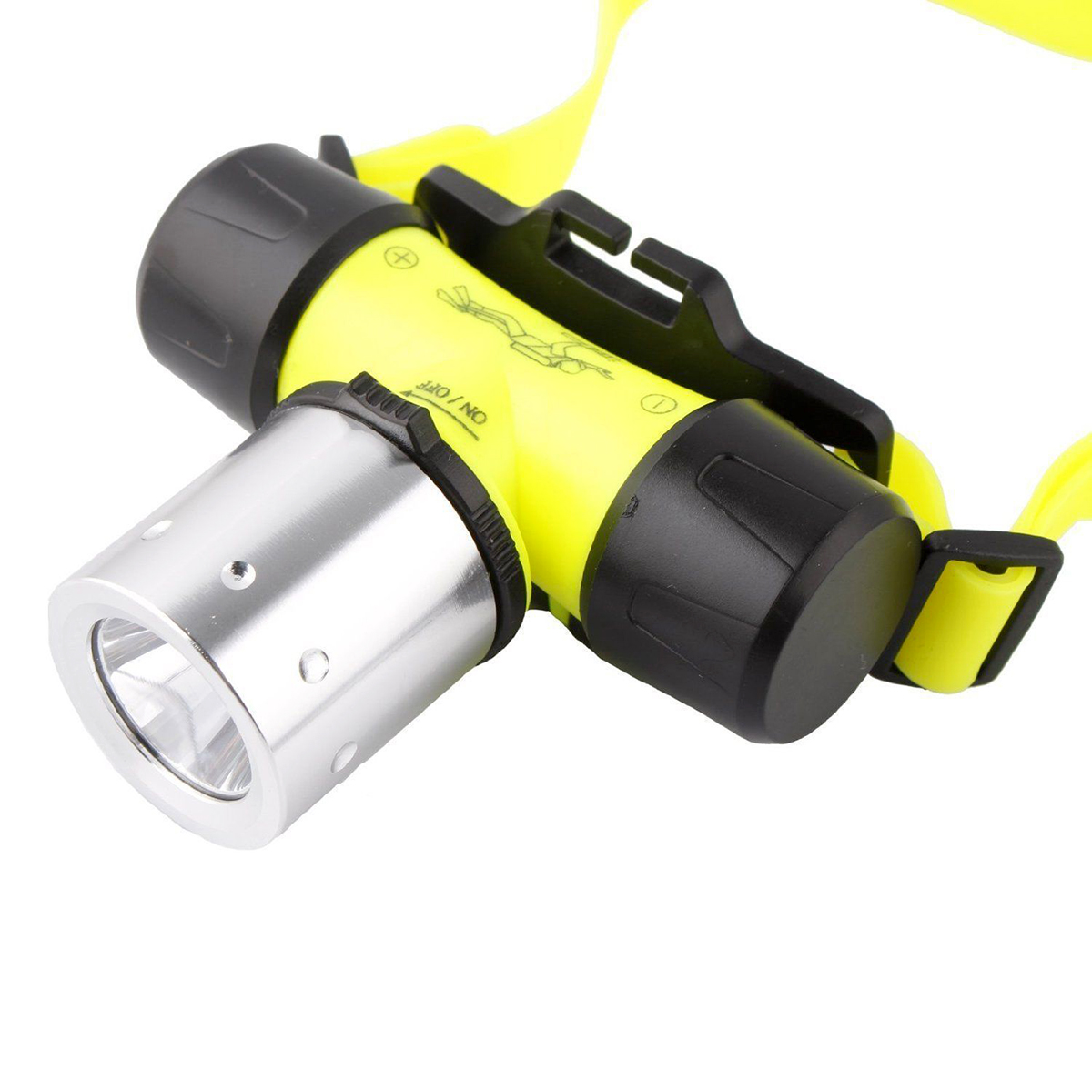 Brand New CREE T6 SMD Head Light Waterproof Diving Swimming Fishing Headlamp Underwater in Headlamps from Lights Lighting