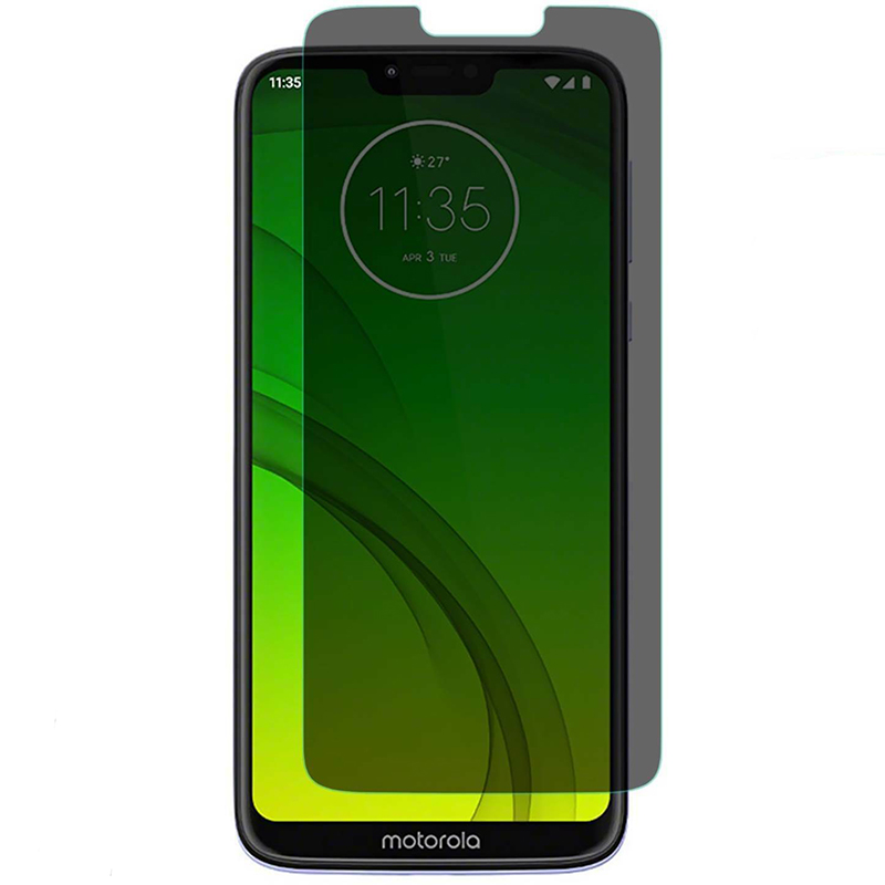 EXUNTON Anti Spy Front Privacy Screen Protector Film For  Motorola Moto G7 G7 Power G7 Plus Anti Glare Anti-spy Tempered Glass