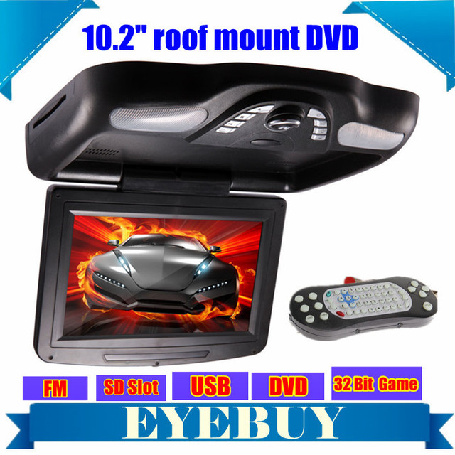 overhead dvd player roof mount dvd players dvd flip. Black Bedroom Furniture Sets. Home Design Ideas