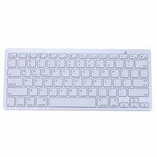 Slim Bluetooth 3.0 Wireless 2.4GHz Keyboard for Apple iPad-1 1 2 3 4 for Mac Computer PC M