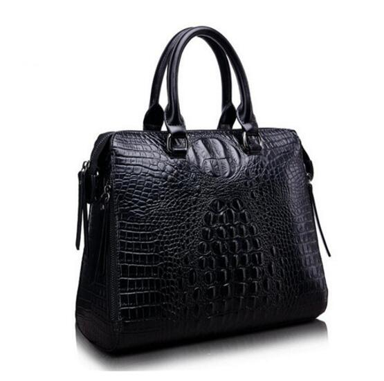 High quality Crocodile Women Genuine Leather Embossed Bag Famous Designer Handbags Luxury Shoulder Messenger Bags fashionable women casual high quality crocodile embossed genuine leather small mini messenger bag