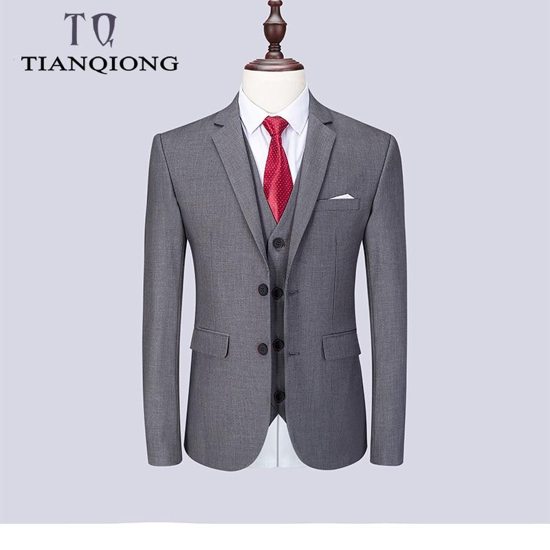 2019 mode Männer der Neuesten Mantel Hose Designs Casual Business Anzug 3 Stück Set/männer Anzüge Blazer Hosen hosen Weste Weste-in Anzüge aus Herrenbekleidung bei  Gruppe 2