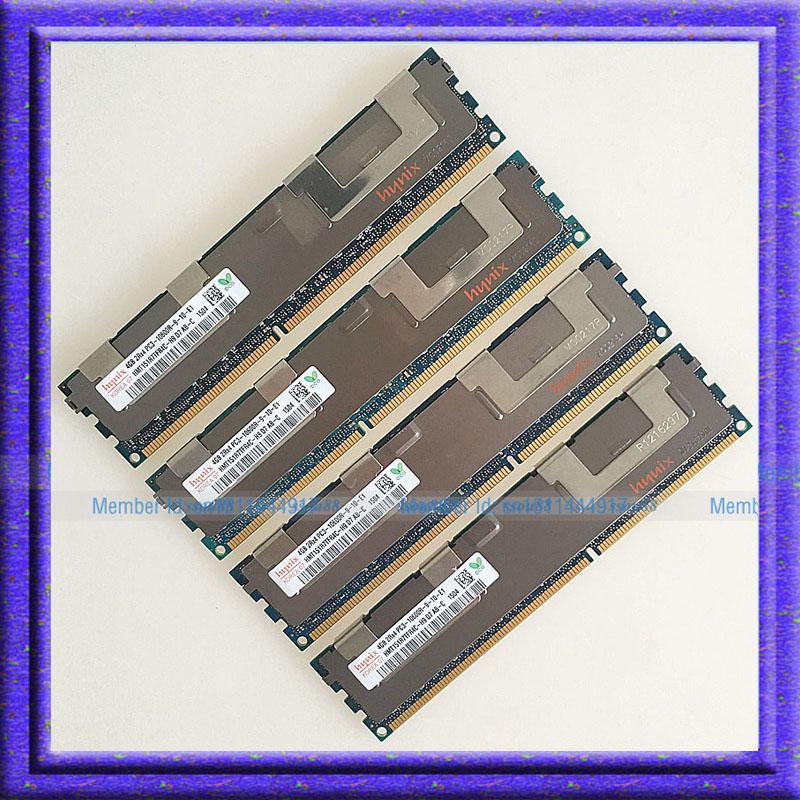 Prix pour Garantie à vie Pour Hynix 16 GB 4x4 GB PC3-10600R DDR3 1333 MHz CL9 ECC Mémoire REG Enregistré 240-pin 4x4g RAM