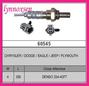 For Chrysler Cirrus Dodge Avenger Front Oxygen Sensor Jeep Denso 234 4077