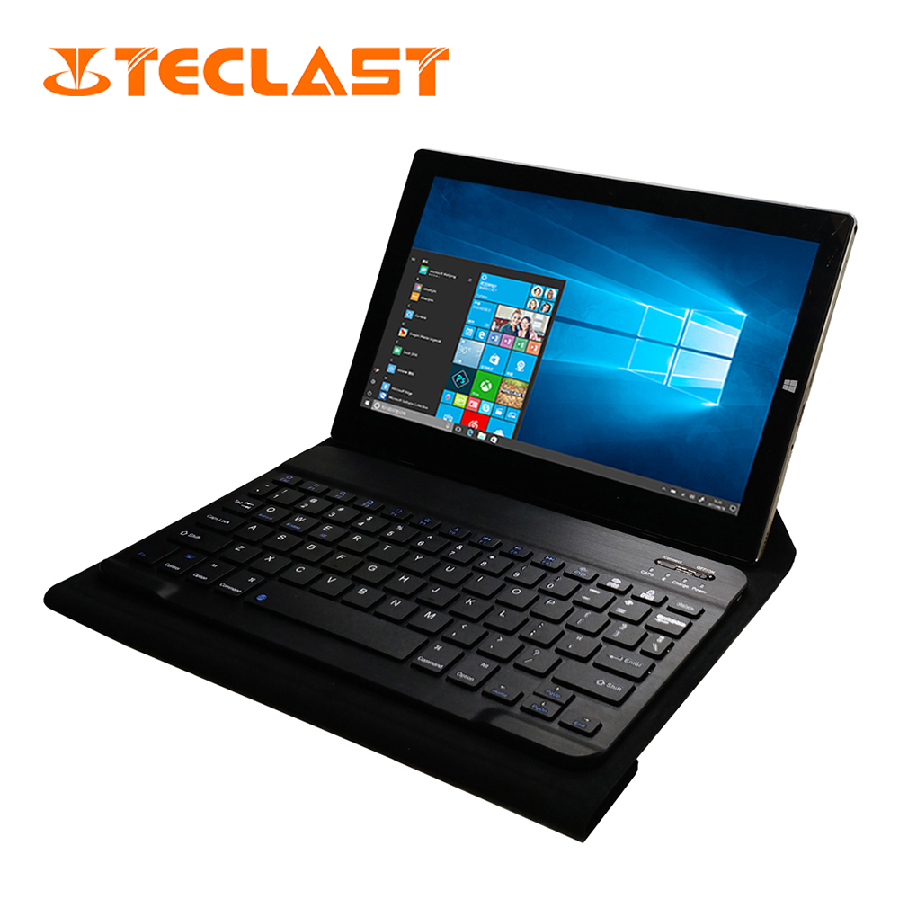 Teclast Tbook 10s 2 in 1 Tablet PC Windows 10+Android 5.1 IPS Intel Cherry Trail Z8350 Quad Core 4GB RAM 64GB ROM 10.1 inch