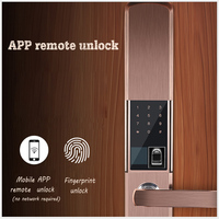 PENGBO Smart Fingerprint Door Lock Home Anti theft Lock Fingerprint Verification Intelligent Lock With Password