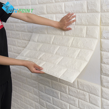 3D White Wall Stickers DIY Self Adhensive papars For Living Room Home Decor Bedroom Kids Waterproof Decorative Poster