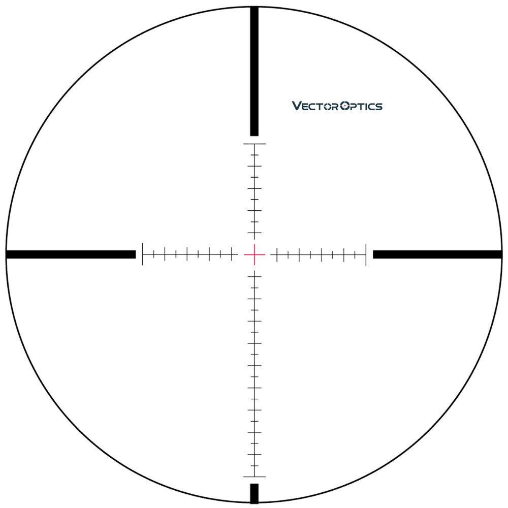 Óptica vectorial Contrapunto 6-25x 56 mm FFP Visor de retícula Cruz - Caza - foto 5