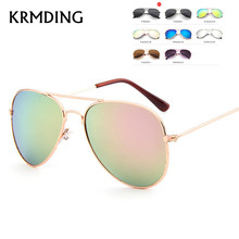KRMDING Fashion 2019 baby child sunglasses boy girl goggles Uv400 Oculos De Sol Feminino