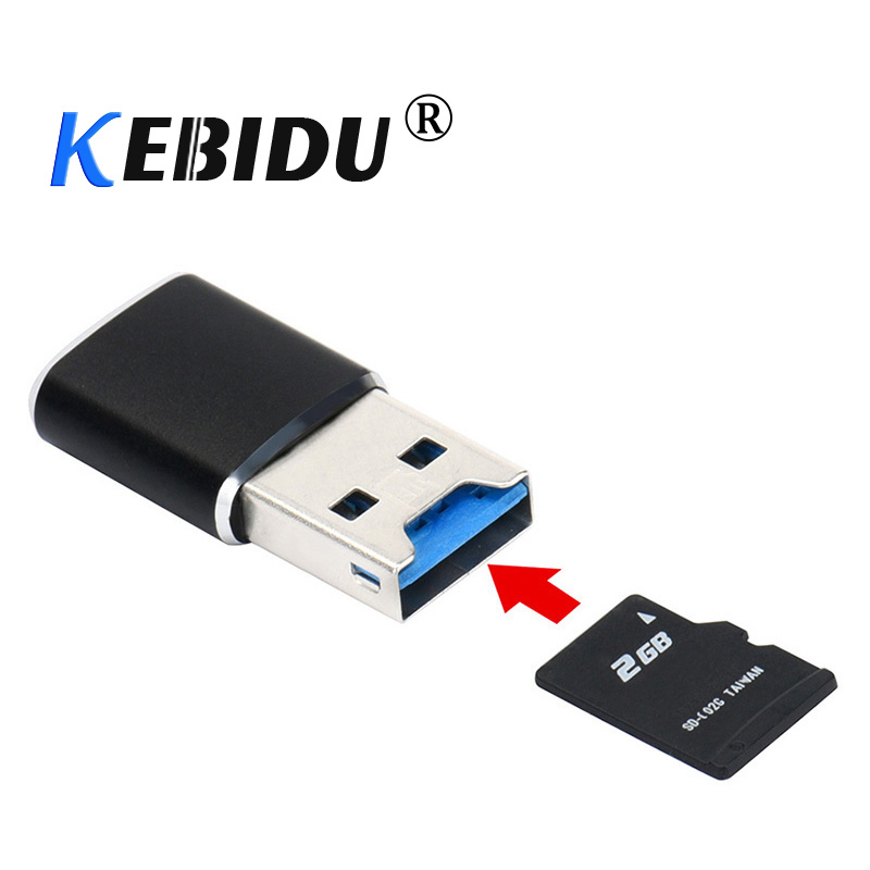 New Mini 5Gbps High Speed USB 3.0 Micro SD//SDXC TF Memory Card Reader Adapter US
