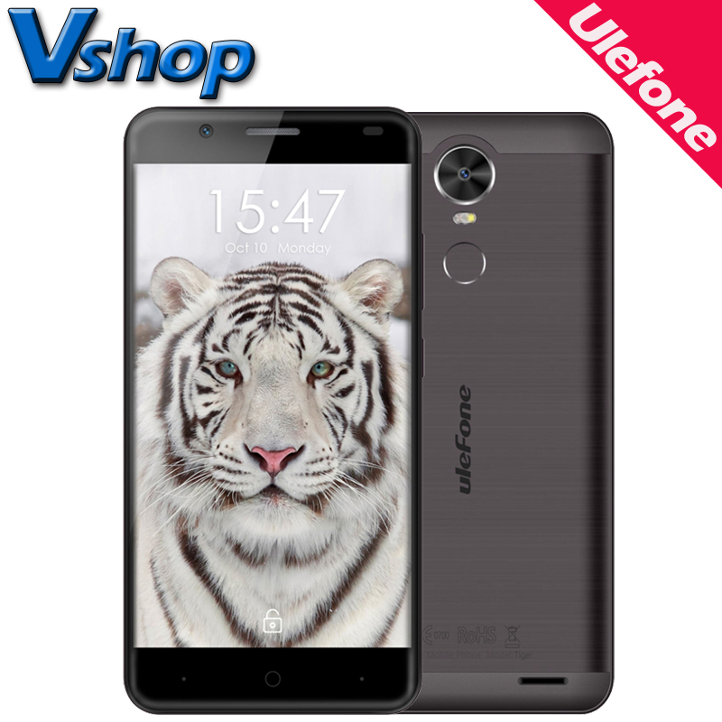 Original Ulefone Tiger 4G Mobile Phones Android 6 0 2GB RAM 16GB RAM Quad Core 720P
