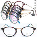 wholesales R5014 TR90 cateye rim combined with alloy bridge nickel copper side arm  full-rim optical frames free shipping