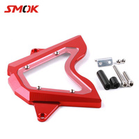 SMOK Motorcycle CNC Aluminum Front Left Side Sprocket Chain Guard Engine Cover For Yamaha YZF R3 R25 MT 03 MT03 MT 03 2014 2016