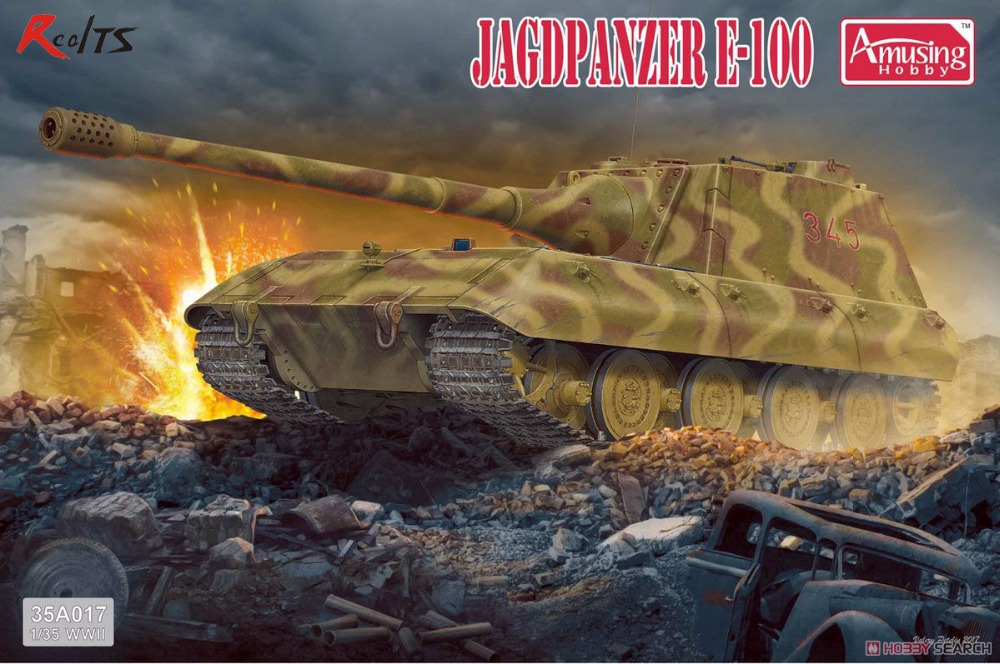 RealTS Amusing Hobby 1/35 35A017 German Jagdpanzer E100RealTS Amusing Hobby 1/35 35A017 German Jagdpanzer E100