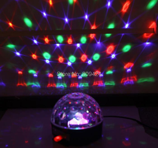 1pc 18w Mp3 Music Party Disco Lights Lighting Ball For Ktv
