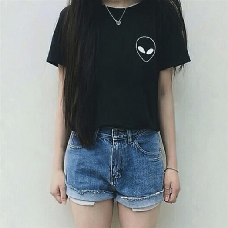 New-Summer-Kawaii-Design-Pattern-Aliens-T-Shirts-Women-O-Neck-Casual-Short-Sleeve-Cropped-Tops.jpg_640x640
