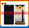 De alta calidad para nokia lumia 830 touch digitalizador pantalla sensor con pantalla lcd asamblea completa con marco de envío gratis