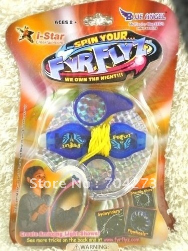 The dream flywheel turn FYRFLYZ popular in Europe and the United States toy yo-yo LED lights/Free shipping