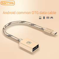 TORRAS Micro USB OTG Cable USB 2 0 OTG Type C Cable Adapter For Samsung Xiaomi