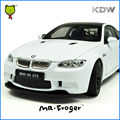 Mr.Froger 1:24 BM M Power Model Alloy Car Model Refined Metal Vehicles Decoration Classic Toy Sports Cars M3 GTS DIY Educational