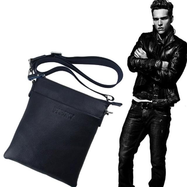 Design da marca estilo Coreano 100% homens sacos do mensageiro dos homens de couro genuíno primeira camada de couro de vaca Bolsa Computer Messenger bags